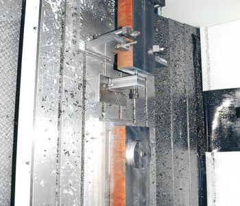 metal machine on a wall 2